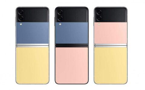 三星推出Galaxy Z Flip 3色彩定製款智能手機