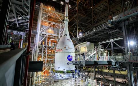 [視頻]NASA公布Artemis巨型月球火箭發射前的壯觀場景