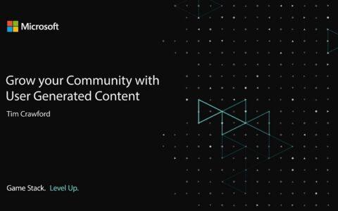 微軟發布Azure PlayFab公眾預覽 為玩家鋪平UGC貨幣化道路
