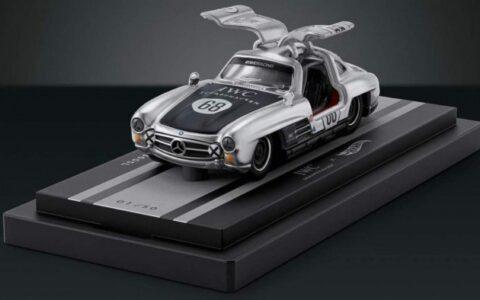 Hot Wheels發行奔馳300SL鷗翼版模型車與萬國表組合 售價高達12000美元